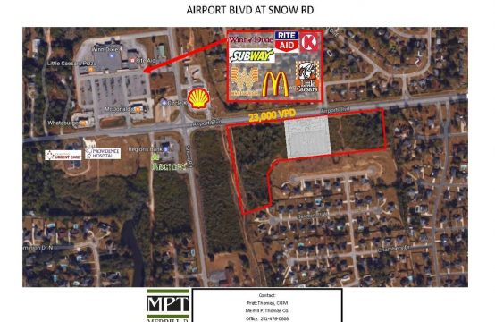 6 Airport Boulevard Retail Lots